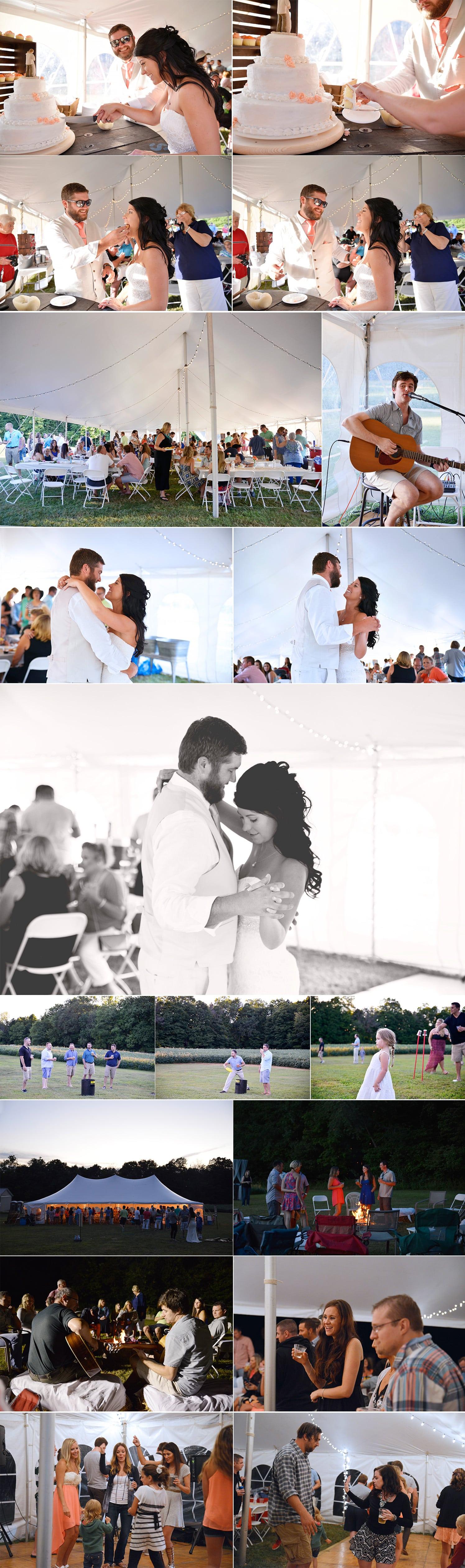 4-country wedding reception mount vernon Ohio