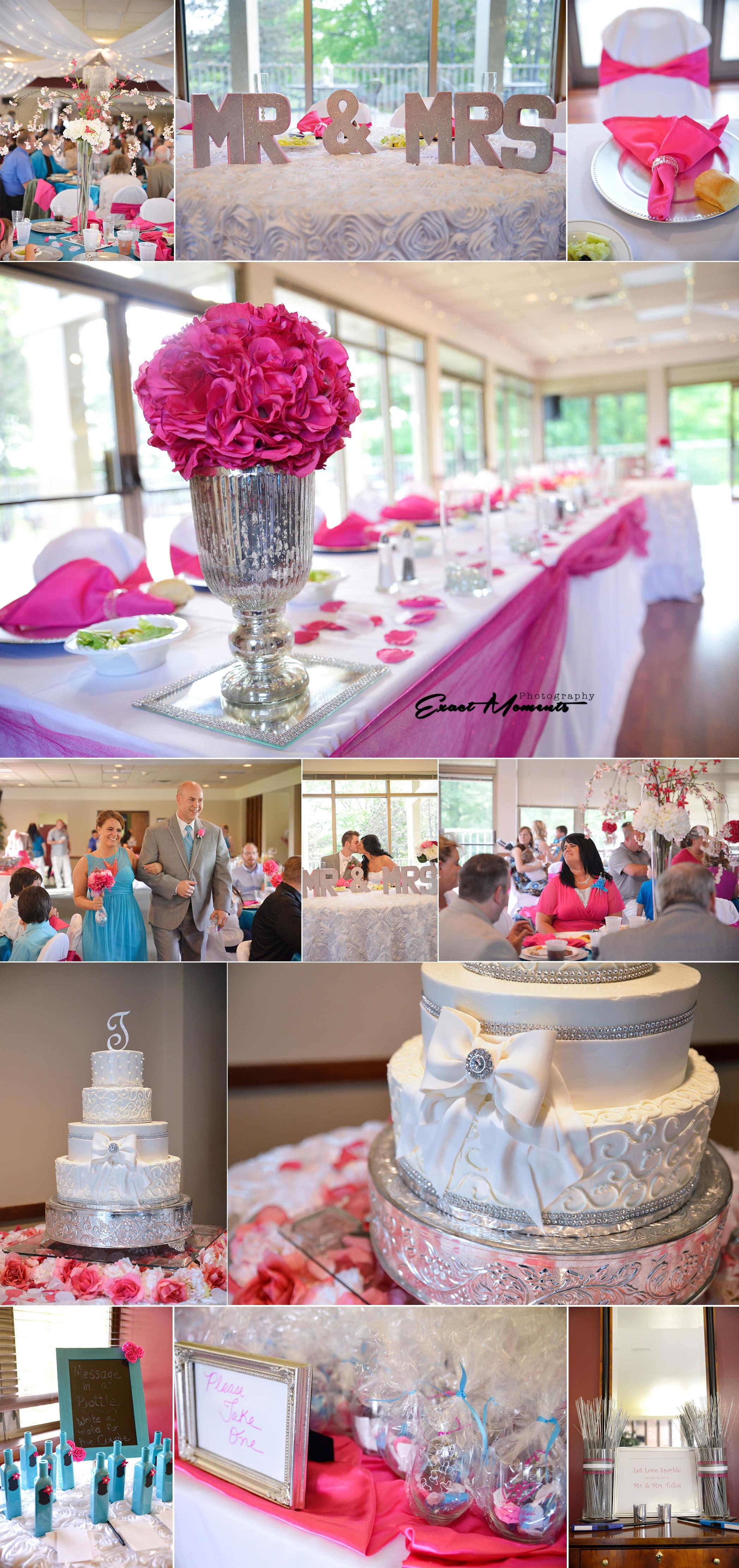 5-York Golf Club Fushio Tuquise Wedding, Columbus OH