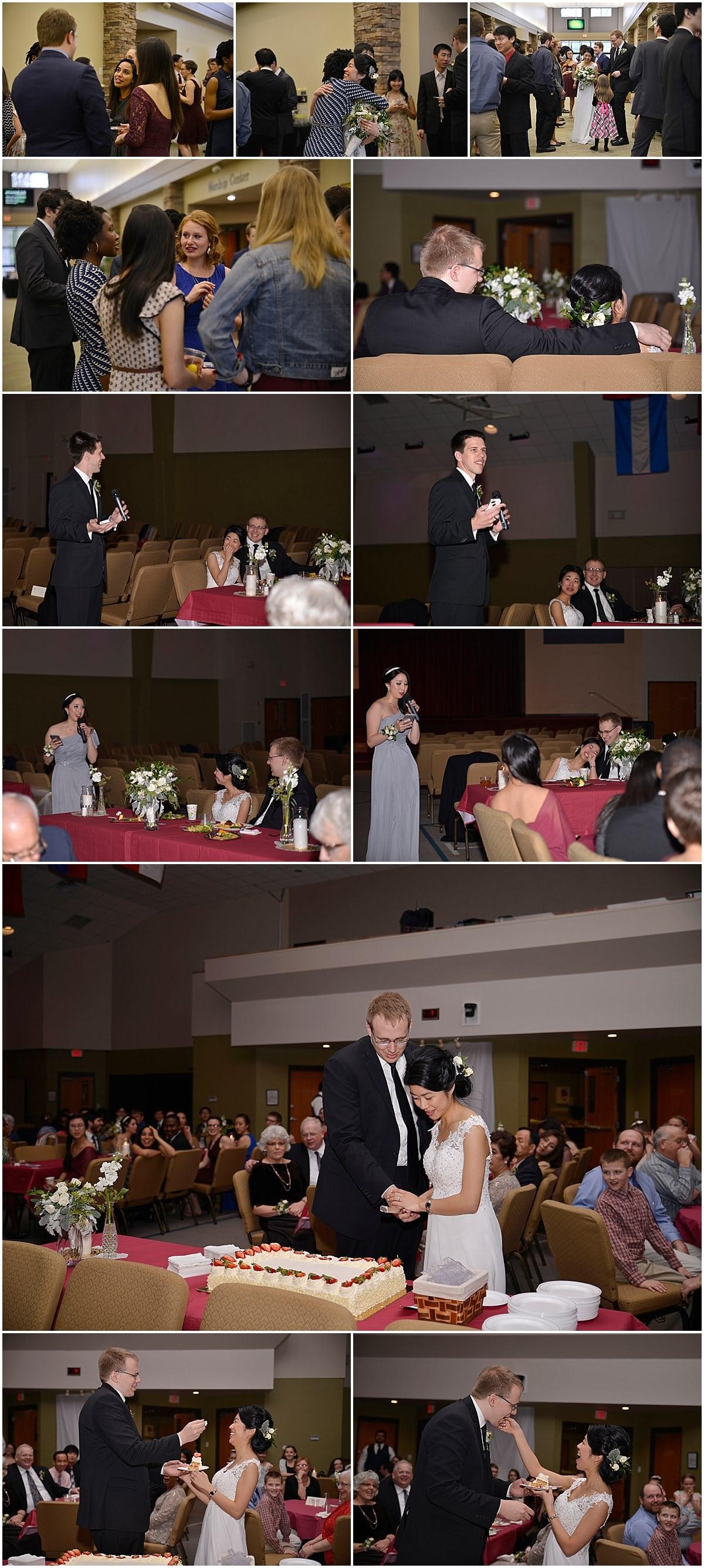 Reception at New Life Church Gahanna Ohio