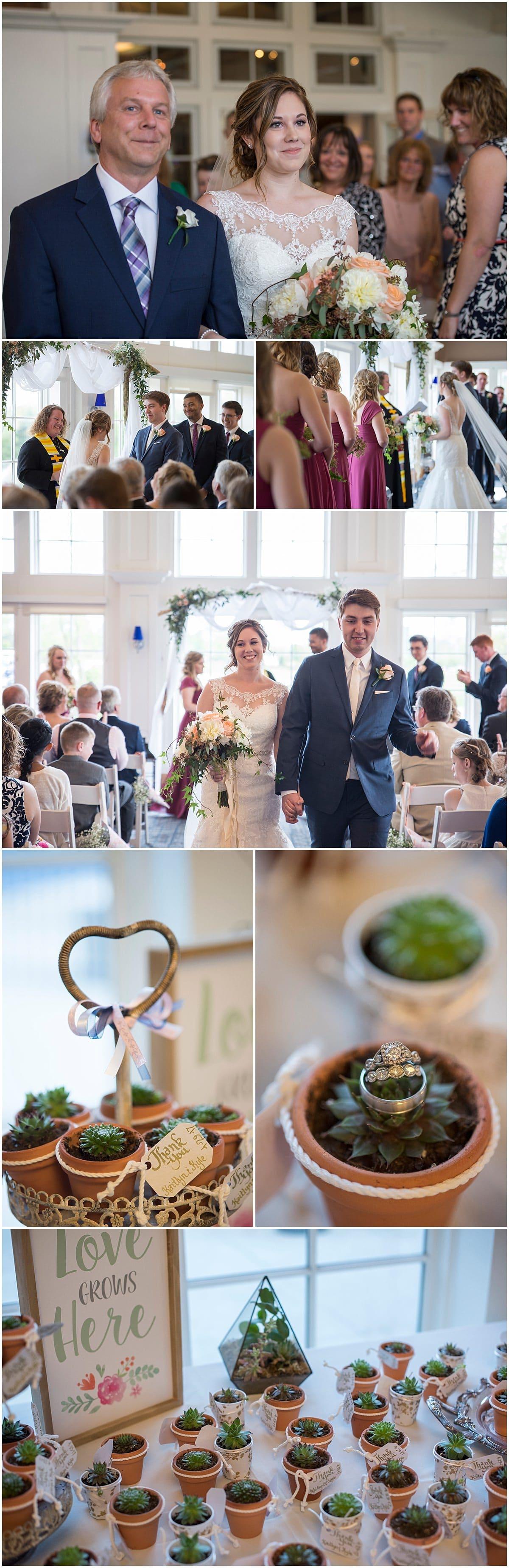 Nationwide Hotel Wedding Ceremony Lewis Center Ohio