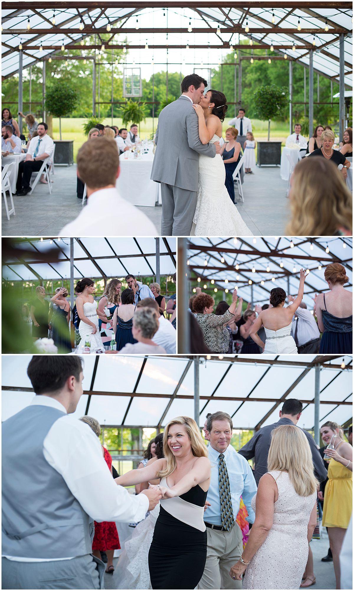 Oak Grove Jorgensen Farms Wedding Reception Columbus Ohio