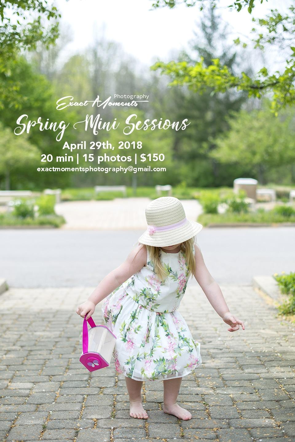 Spring Mini Sessions Columbus ohio