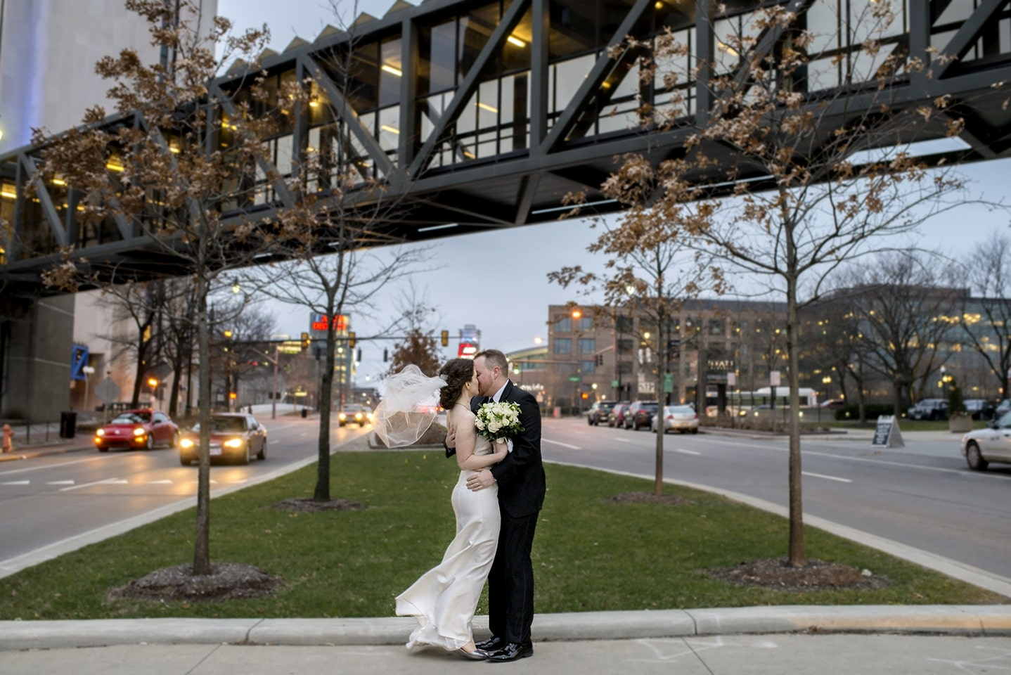 Crowne Plaza, Downtown Columbus/OH Wedding
