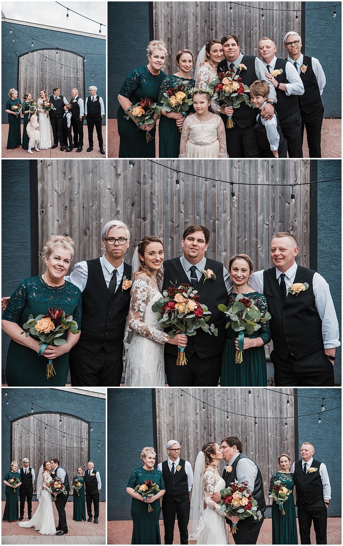 high line car house wedding