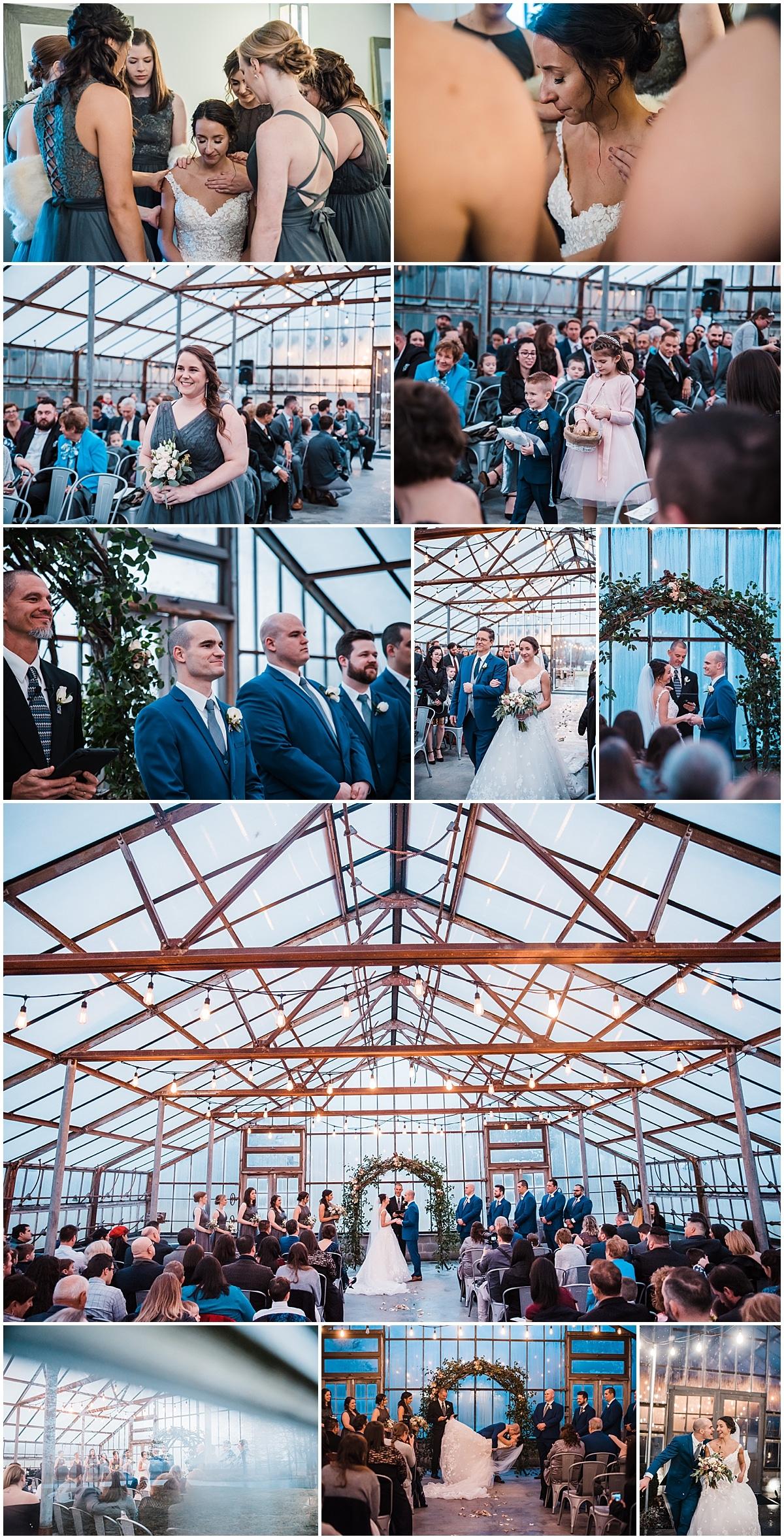 Jorgensen Farms Oak Grove wedding ceremony