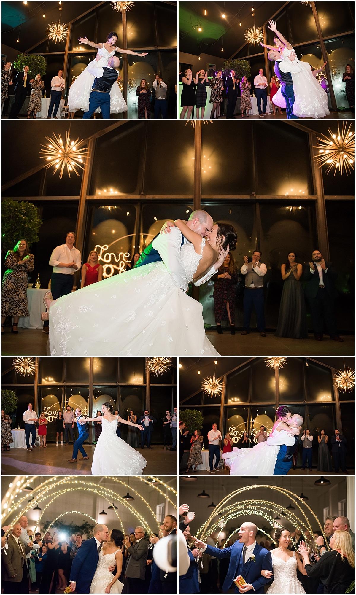 Jorgensen Farms Oak Grove wedding reception