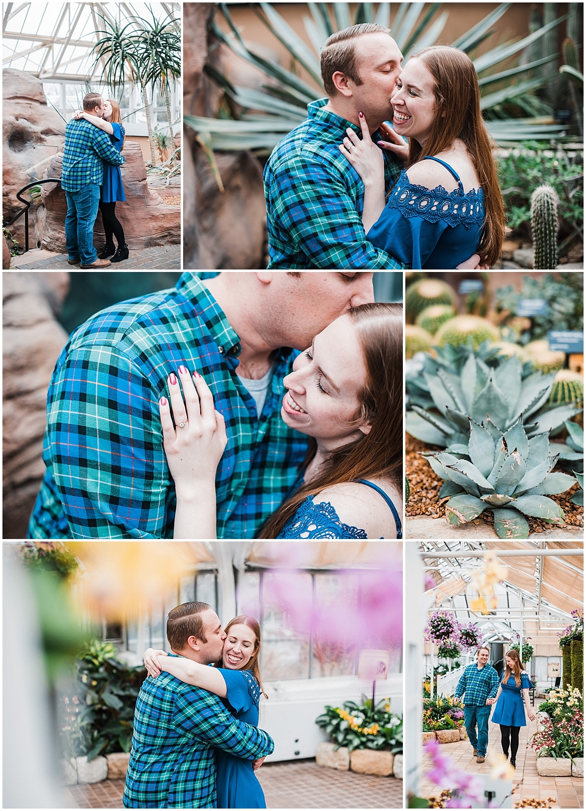 Franklin park conservatory photo session