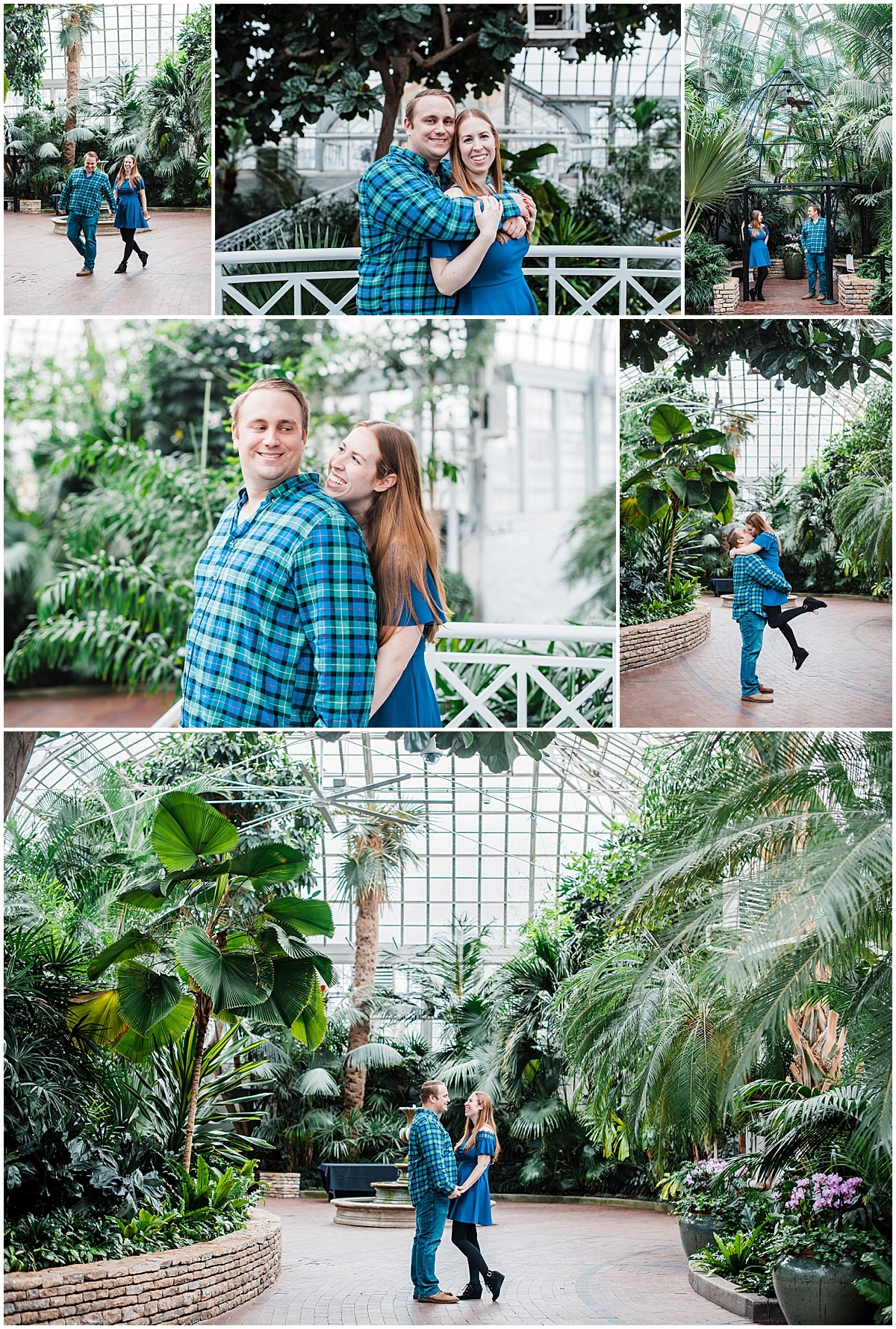 Franklin park conservatory wedding Columbus