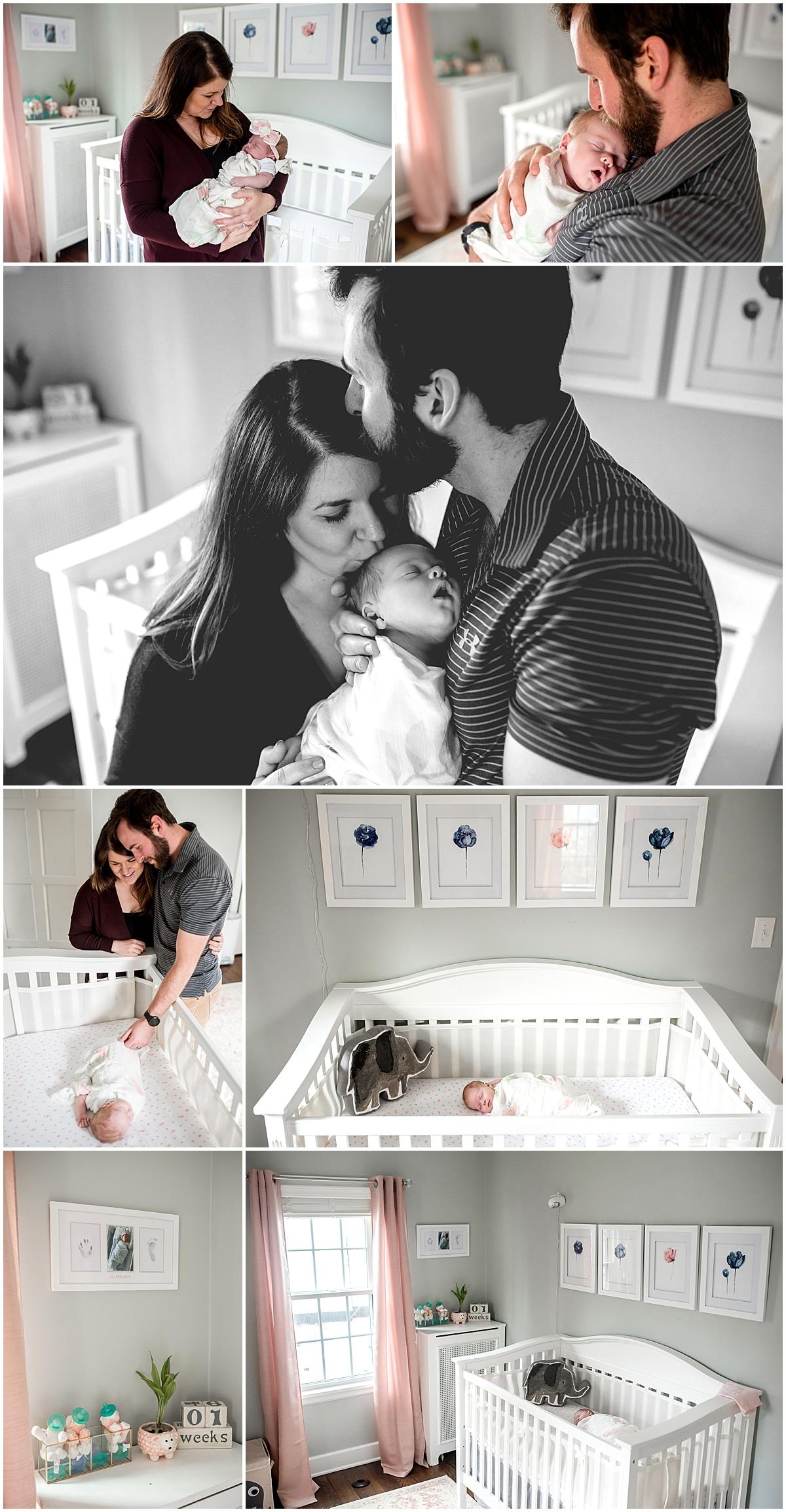 in-home newborn session in columbus ohio