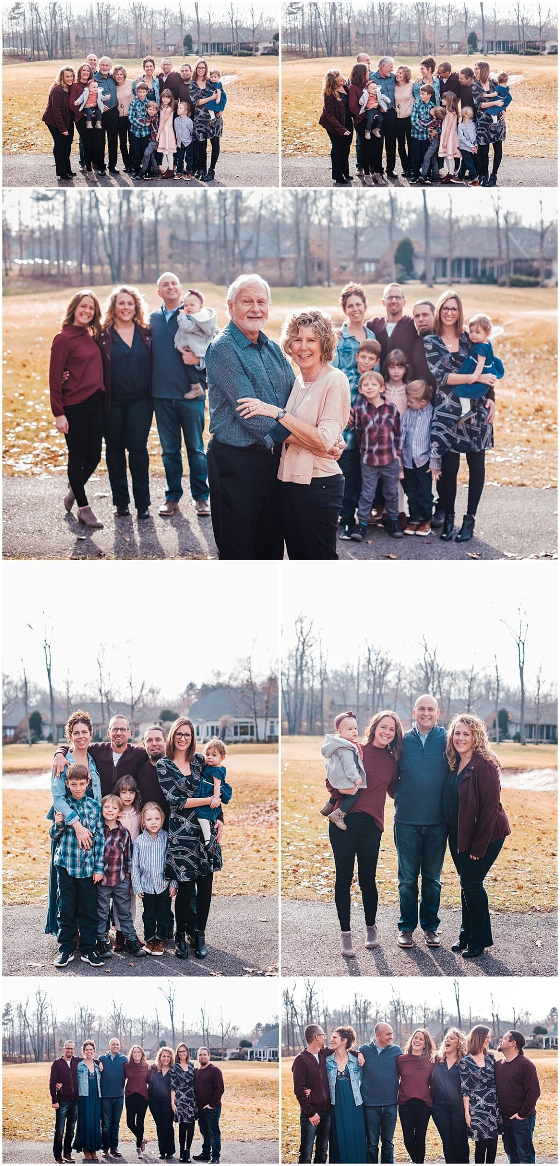 Extended family sessions in Columbus