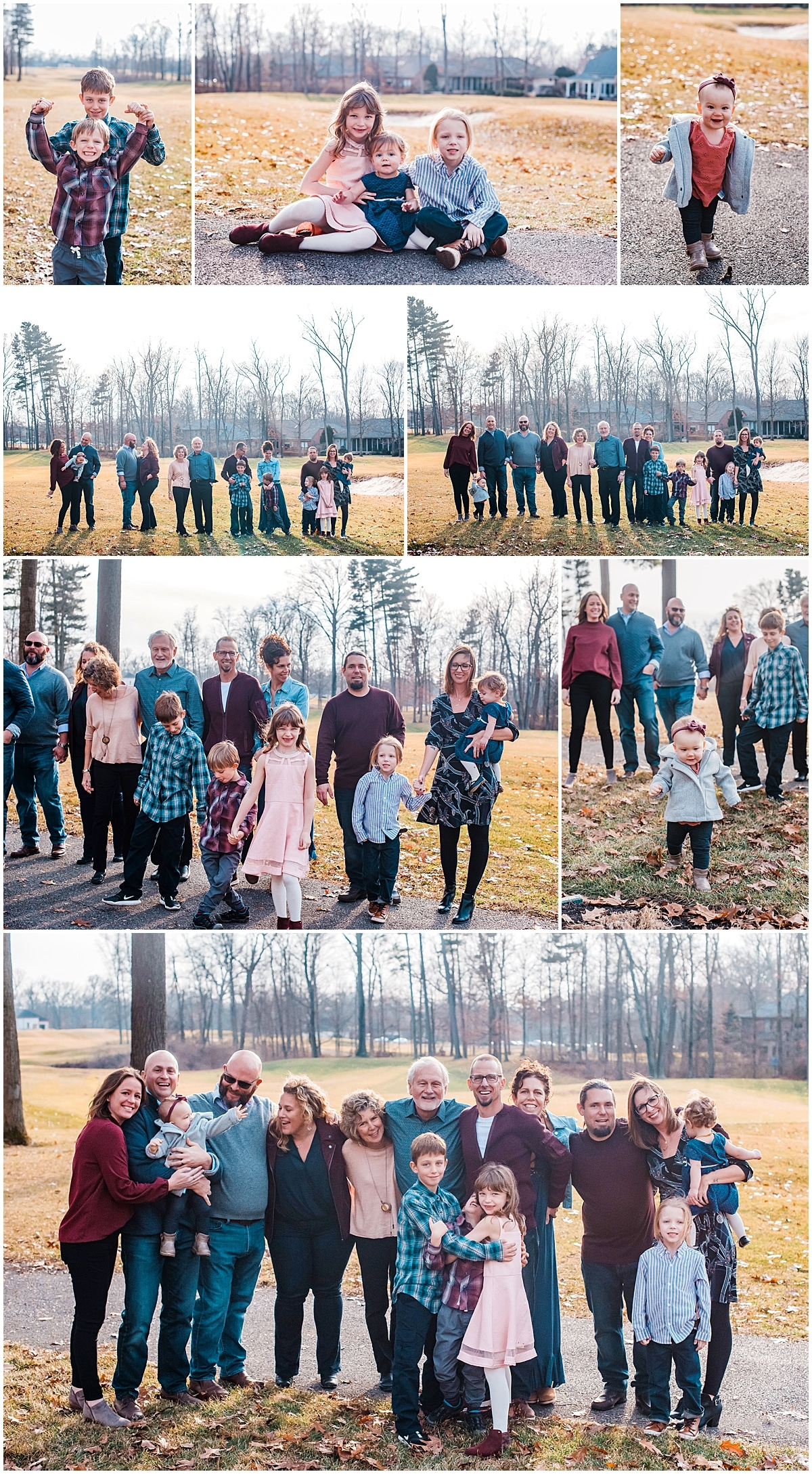 photographers for extended family session in Columbus ohio