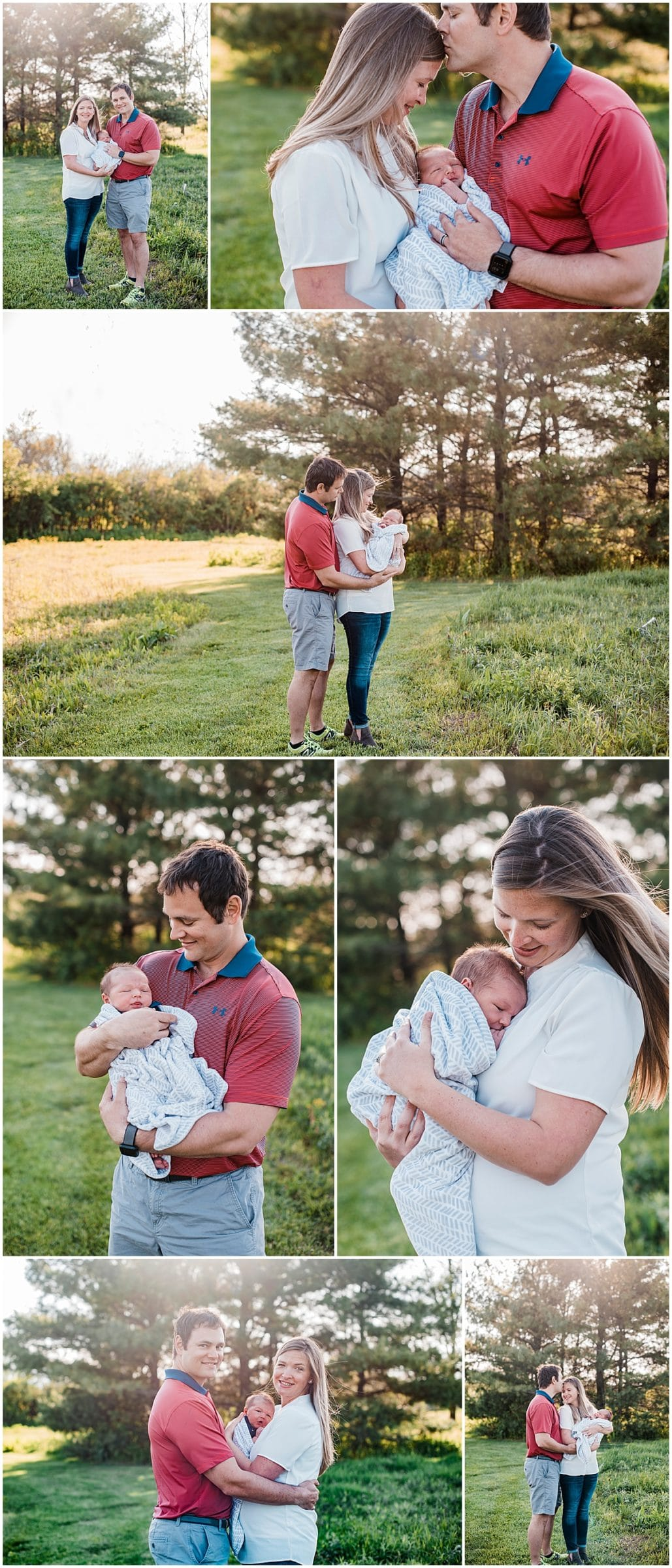 outdoor newborn photography, columbus ohio