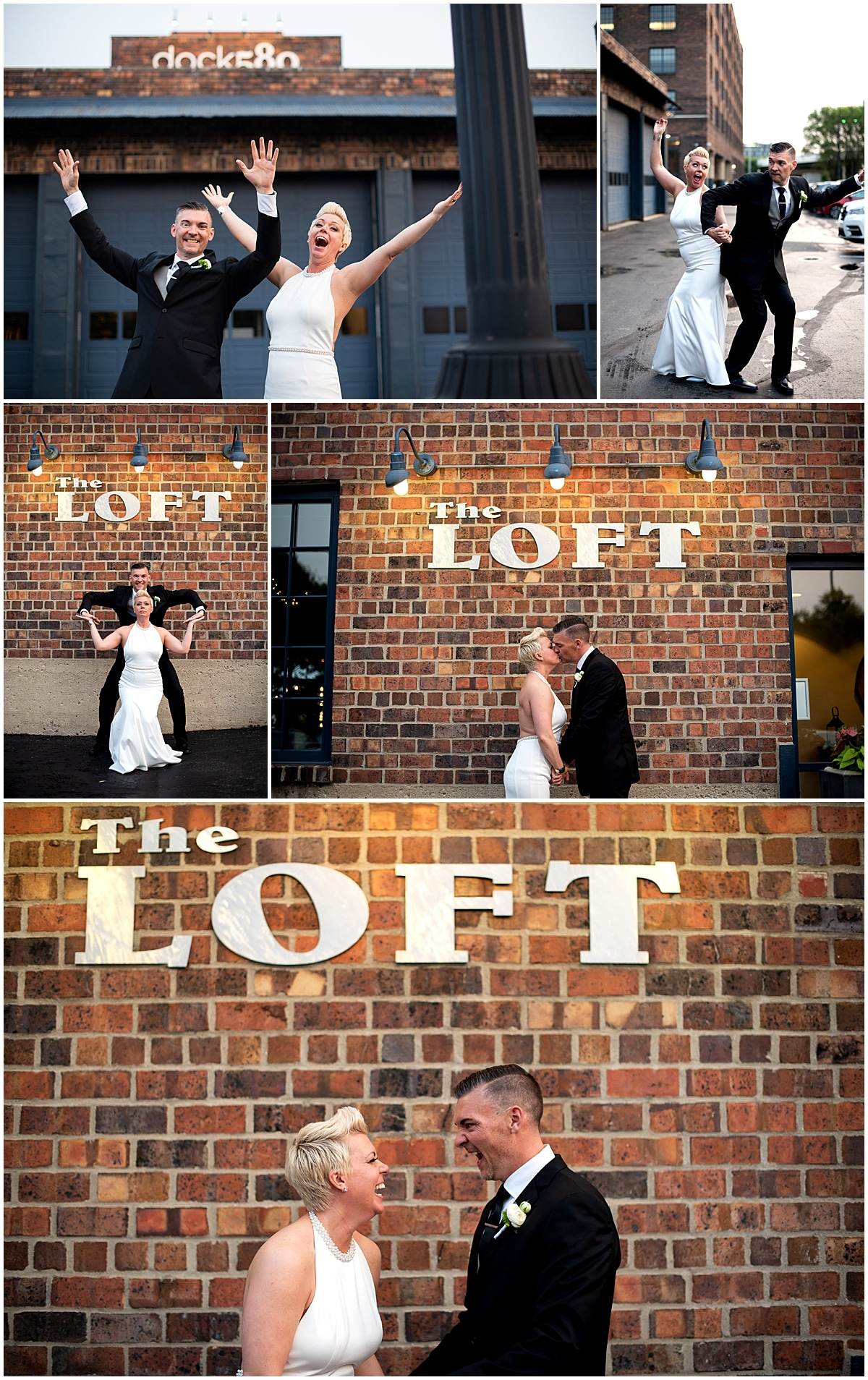 The loft at dock 580 wedding