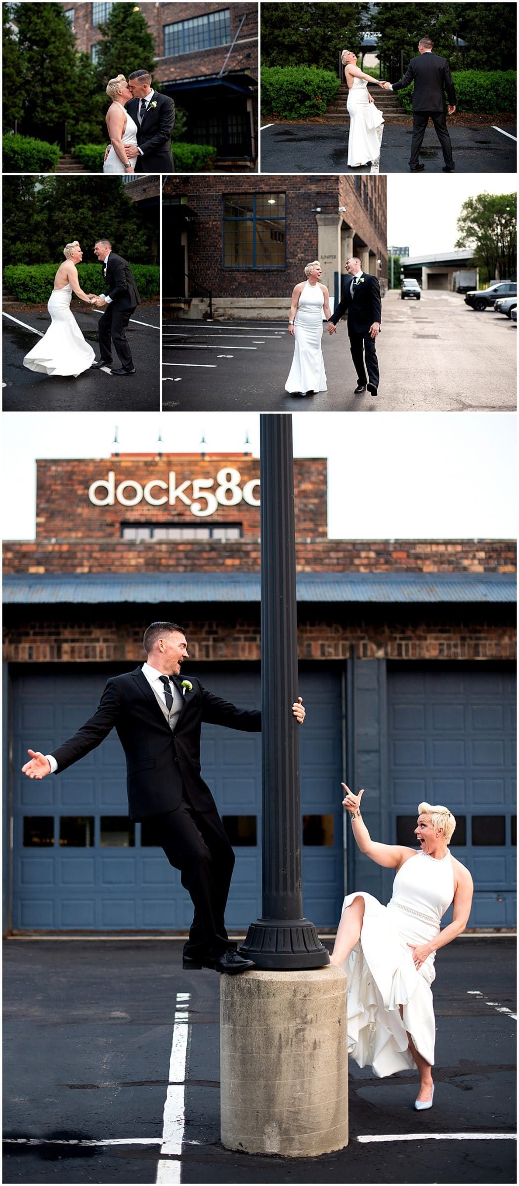 Wedding at The loft at dock 580