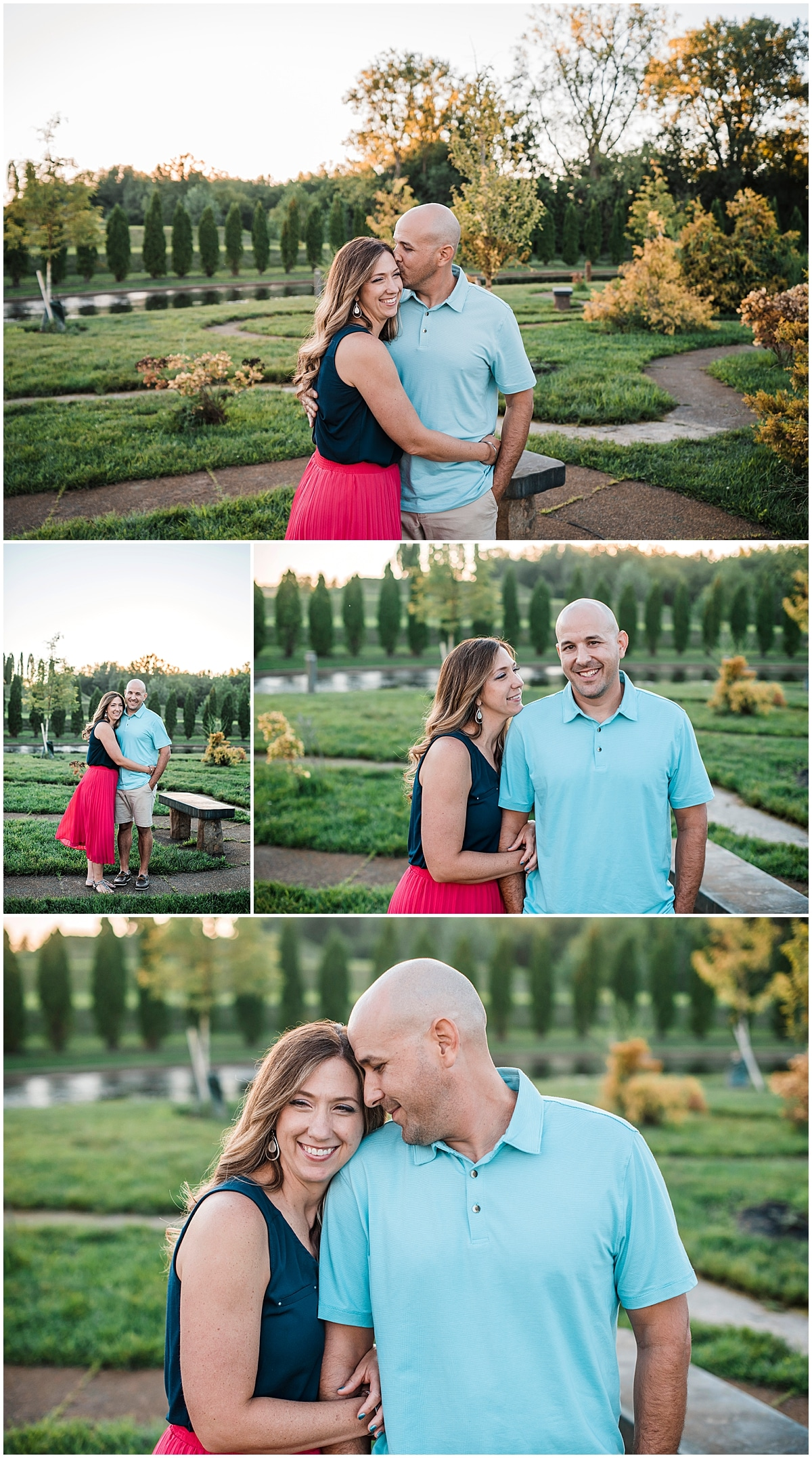 Engagement Session in Ariel Foundation Park
