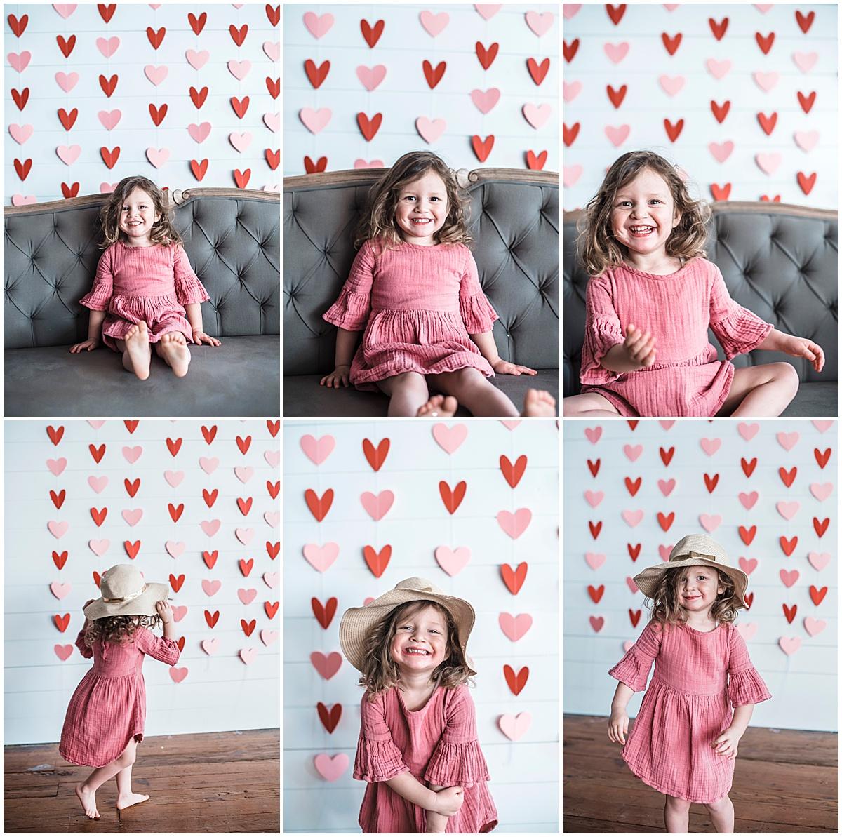 Valentine's day mini photo sessions