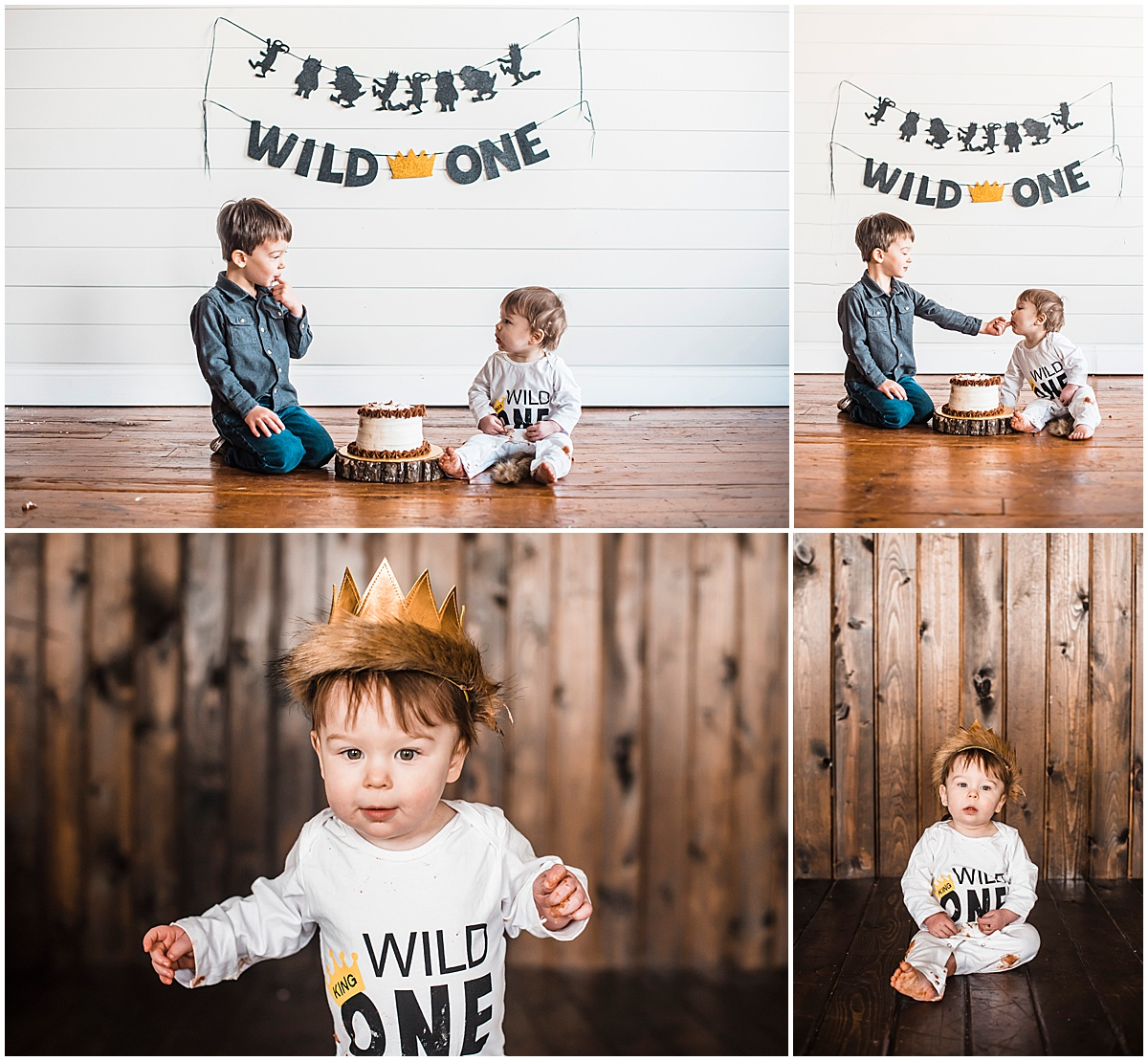 First Birthday Photoshoot in Columbus