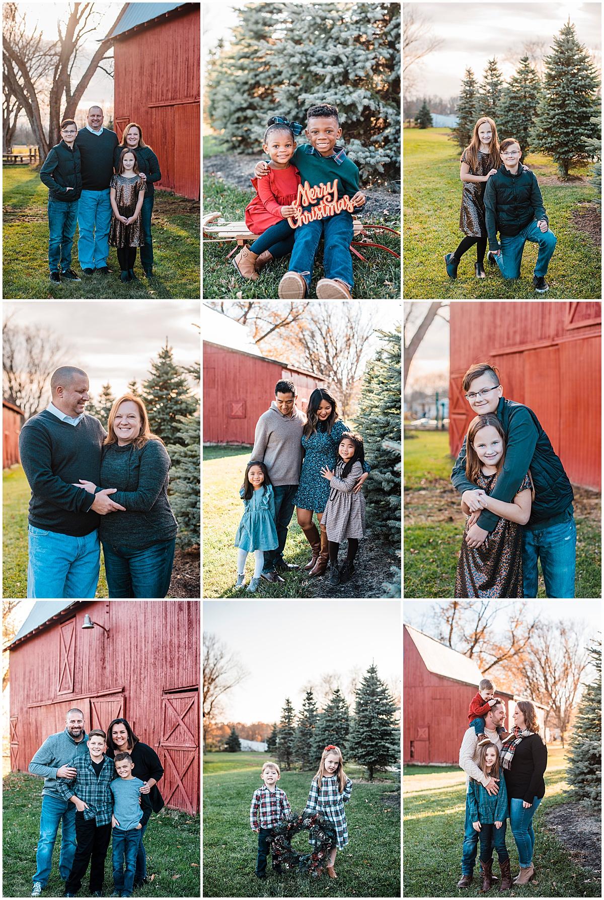 Christmas Mini Photo Sessions in Columbus Ohio